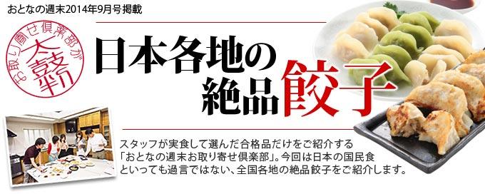 日本各地の絶品餃子
