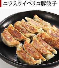 ニラ入りイベリコ豚餃子