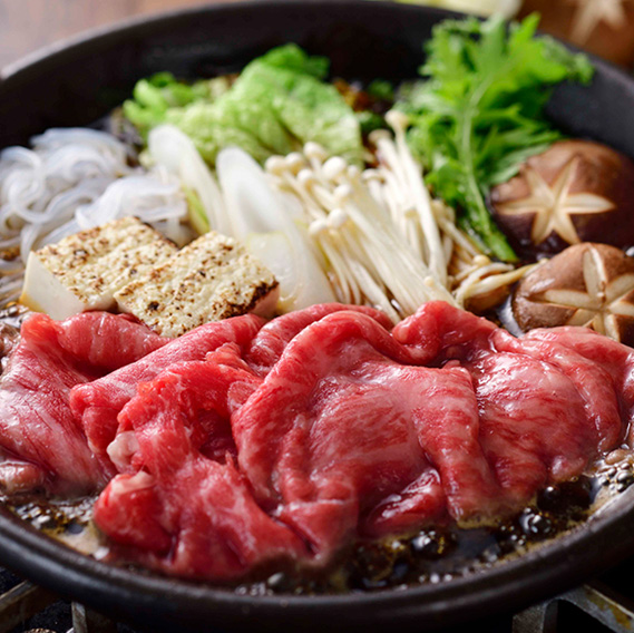 松阪牛モモすき焼き